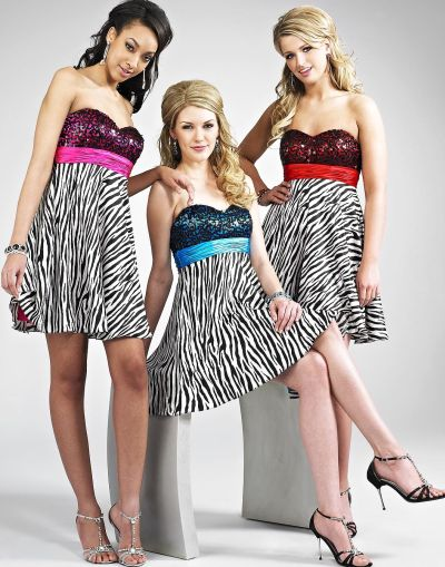 Zebra Print Dresses 2014 Designs For Women