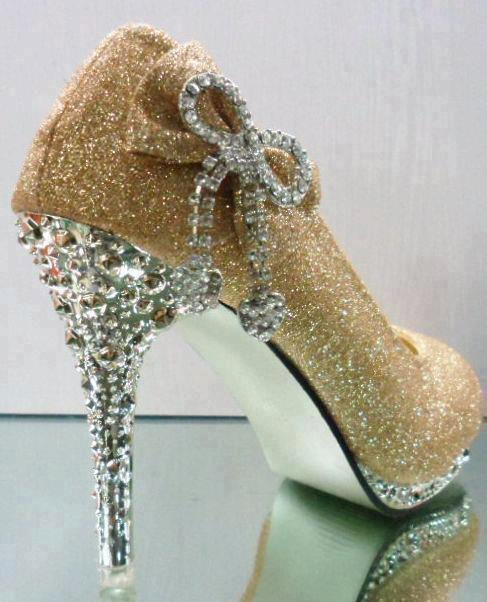 Beauty And The Beast High Heel Shoes
