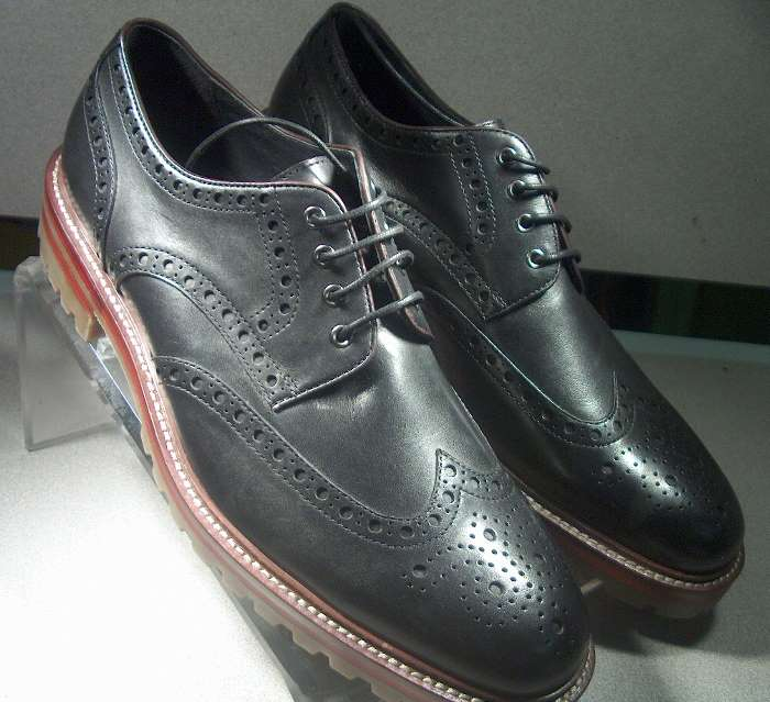 Black Dress Shoes 2014 Collection For Boys By Johnston