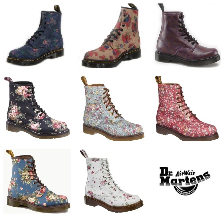 Dr Martens Boots Latest Collection 2014 For Women
