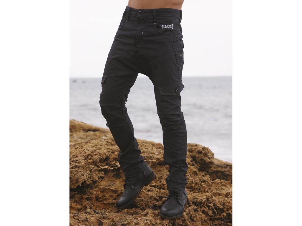 Men's Workwear Pocket Long-Sleeve Henley Shirt