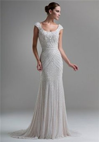 Wedding Dresses For Older Brides. Photo Of Informal Second Wedding ...