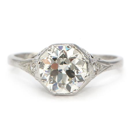 Vintage Rings Engagement 2014 Designs for Ladies