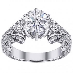 Vintage Wedding Ring New Designs for Ladies