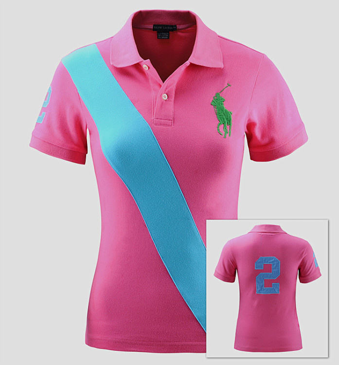 latest women polo shirts 2014 designs