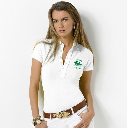 Womens Pink Polo Shirts