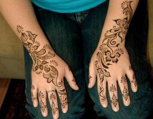 Design Of Mehndi For Children : Henna designs hands for kids