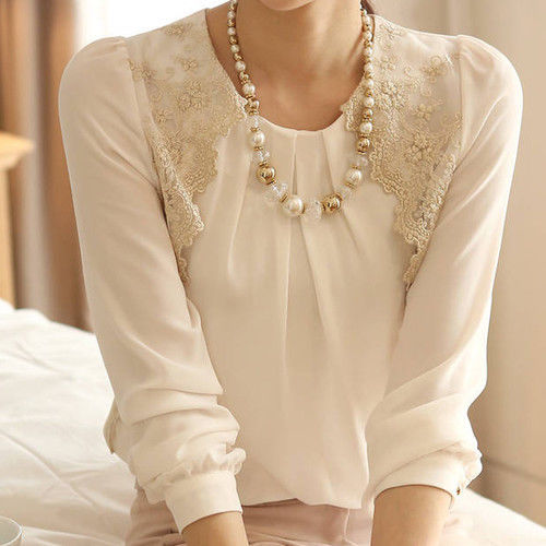 long sleeve shirt designs latest collection 2014 for women