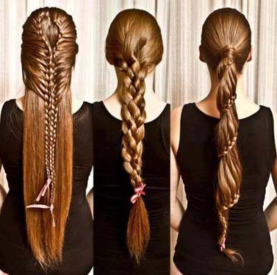 The Actual Styles Tend To Be Braids And Unusual Pathways  Ponytailsdeliberately And Also Along With Pearls And Flowers Of Different  Colors.