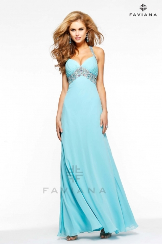 Prom Dresses Faviana Latest Collection For Ladies 2014