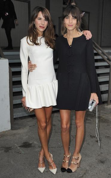 Celebrity Fashion Clothing At Fashion Week Spring Summer ...