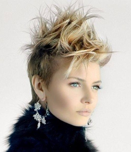 Spiky Short Hairstyles for Girls 2014 - 2015