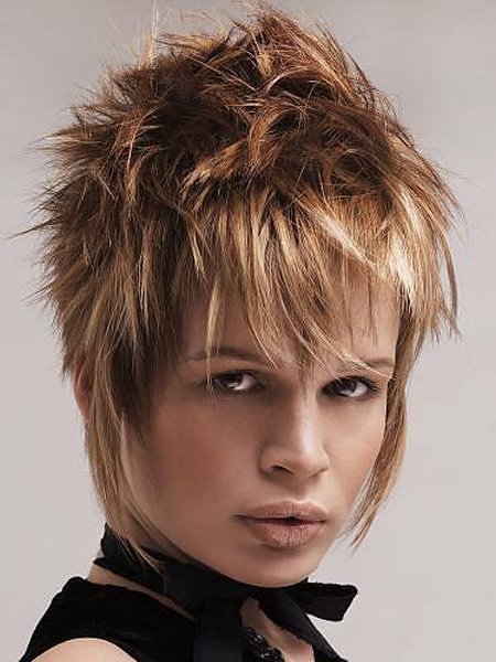 Trend Hairstyle For Man: Spiky Short Hairstyles For Girls 2014
