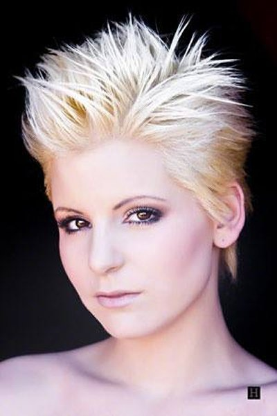 Spiky Short Hairstyles For Girls 2014 2015