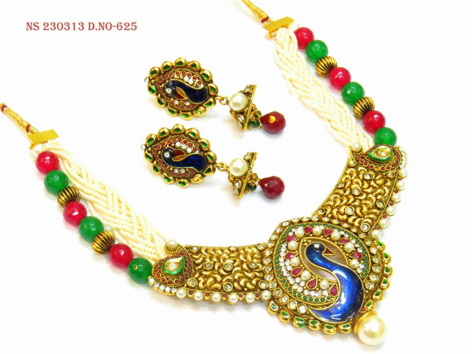 Jewellery for Wedding Latest and Stunning Designs 2014 - 2015