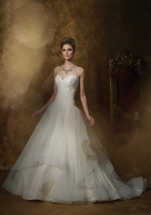 Dresses for Wedding Latest Collection 2014 - 2015 by James Clifford