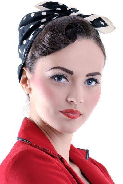 Pin Up Hair Styles For Girls 2014 2015