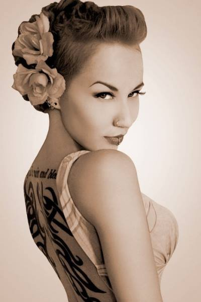 hair up styles images pin up hair styles for 2014 2015 8198