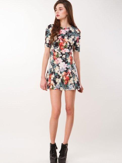 Western Wear Summer Skater Dress Designs 2014 For Western