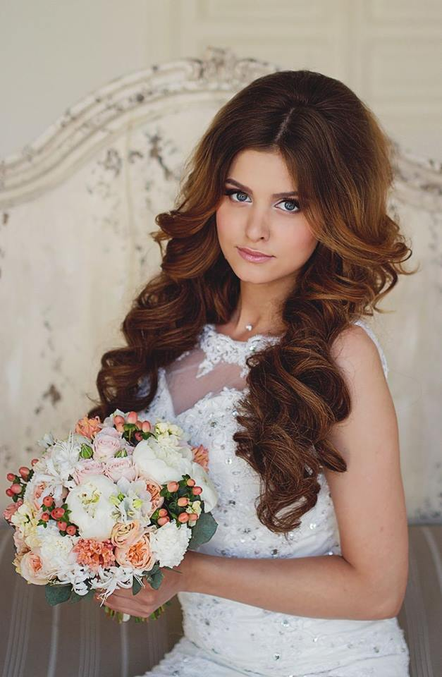 latest wedding hair styles hairstyles for prom and beautiful for 2014 2015 6298 | Beautiful Bridal Hairstyle 2014 2015 for Wedding Day Fashion Fist 1