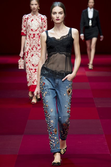 Dolce-Gabbana-ready-to-wear-Spring-Collection-2015- Fashion Fist (8)