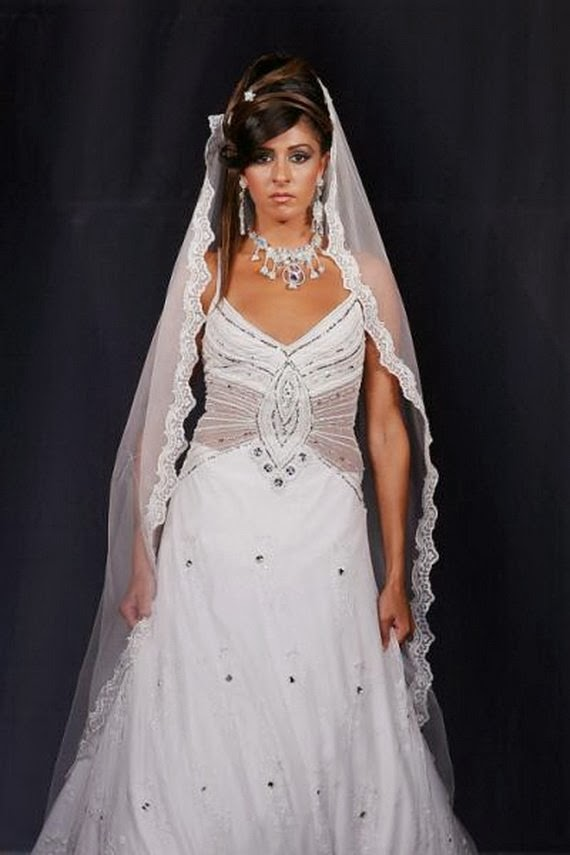 Bridal Gowns 2014 Latest Collection for Lebanon Ladies