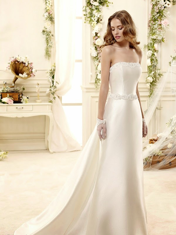 Wedding Dress and Colets Bridal Clothes Collection 2014 - 2015