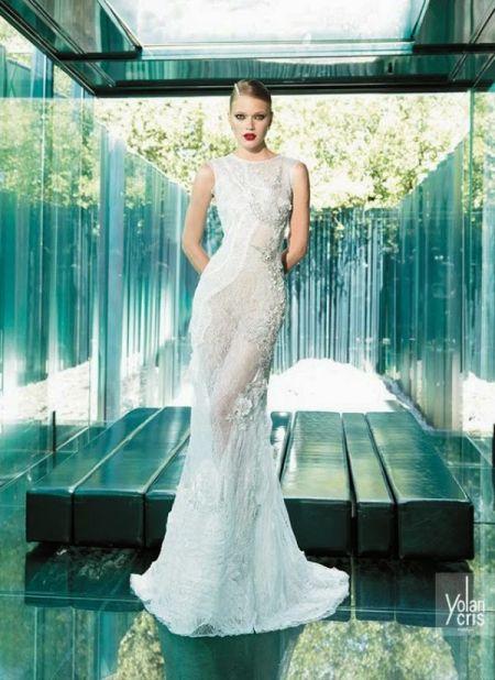 White Wedding Dresses New Designs 2014 - 2015 for Girls