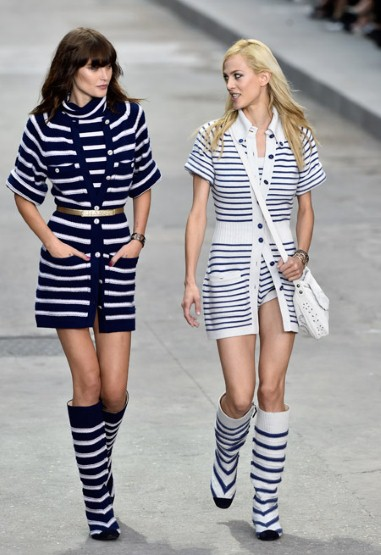 Chanel Clothing Line Spring Season 2014 2015 For Women