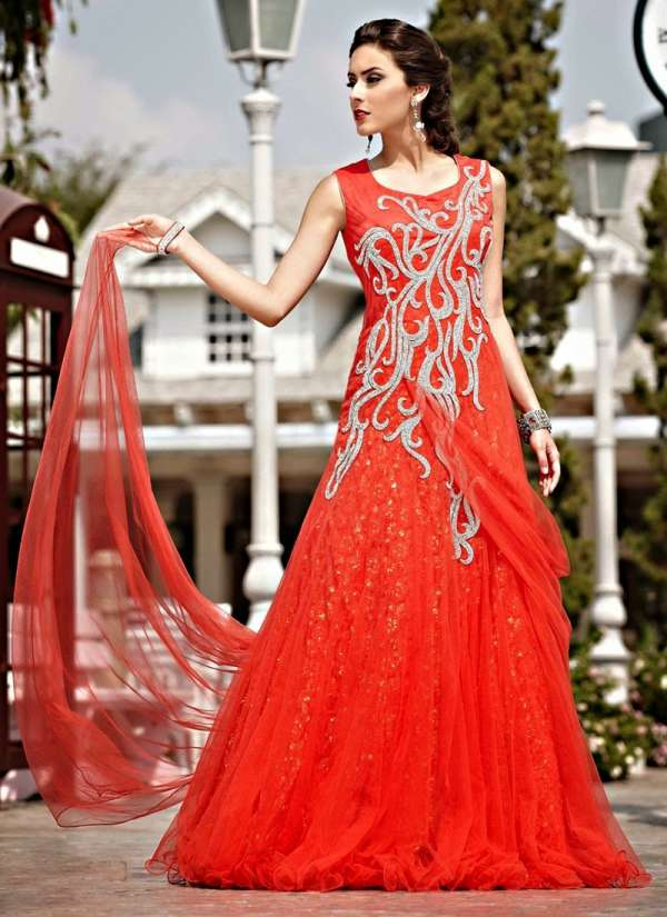 Elegant Wedding Gown 2015 For Girls Fashion Fist 7