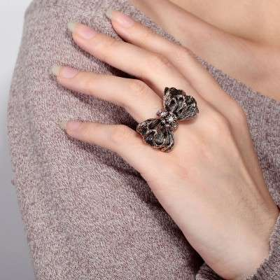 Exclusive-Awesome-Bow-Style-Latest-Rings-Collection-2015- Fashion Fist (6)