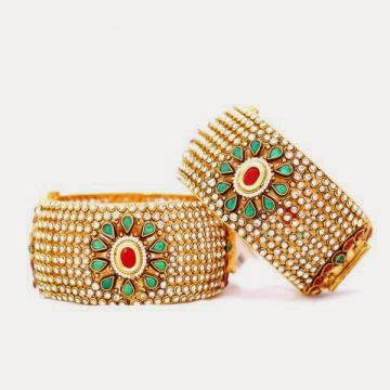 Astonishing Gold Bracelets Designs 2014-15 For Young Girls
