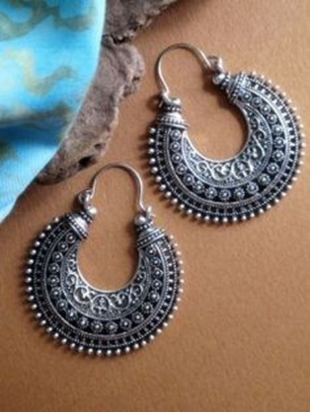 hoop earrings latest and stylish designs 2014 2015 for girls