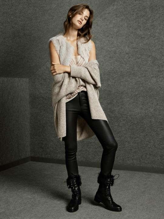 Massimo Dutti Online Latest Girls Winter Dresses 2014 - 2015 | 540 x 720 jpeg 41kB