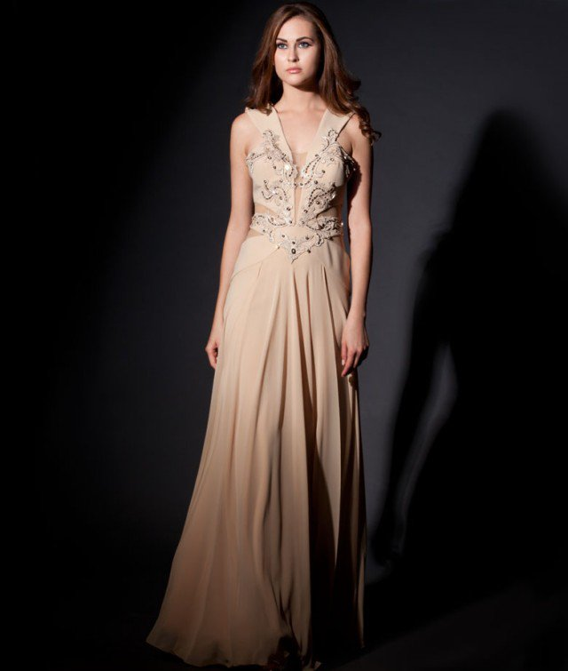 Evening Gowns Dresses New Collection 2014 2015 for Girls