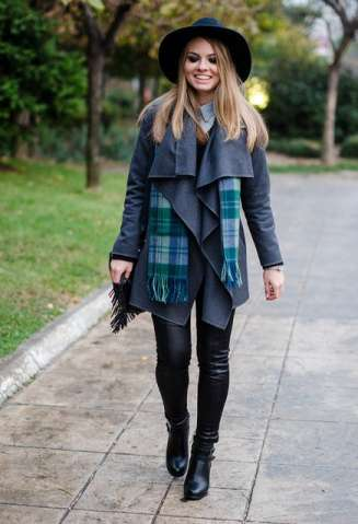 Street style fashion winter clothing 2014 2015 for women Fashion style girl hiver 2015