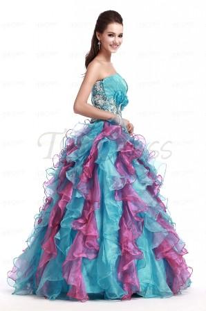 Ball Gown Dresses Uk Strapless for Women 2014 - 2015