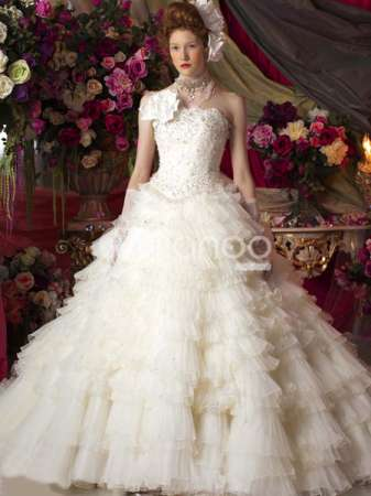 Wedding Gowns New Rococo Collection by Mary Anthony - Fashion Fist (3)
