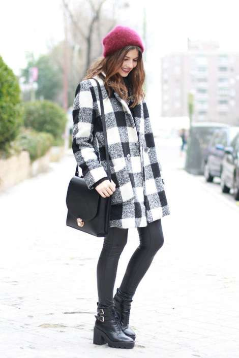 winter cute outfits latest collection 2014 2015 for women