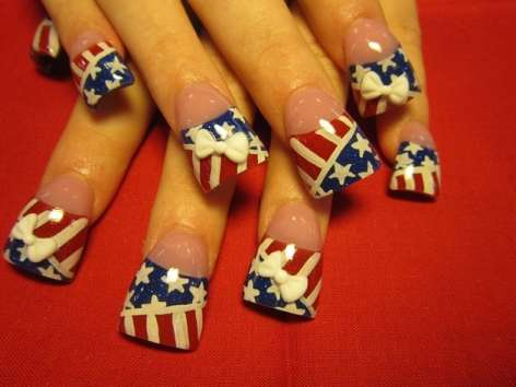 Nail Art 3d Latest And Stylish Designs 2014 2015 For Girls