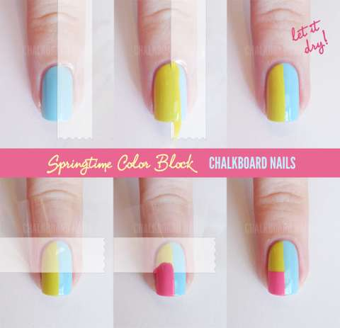 Nail polish diy block designs collection 2014 2015 for Diy shoes with nail polish