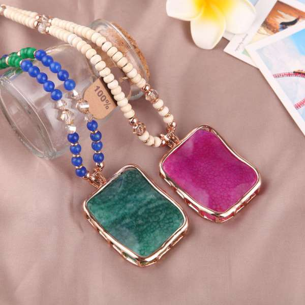 Precious Stones Jewelry 2015 Collection For Girls