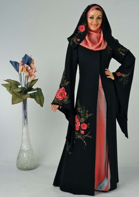 abaya fashion show in dubai
