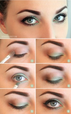 Makeup Tutorials For Girls Green Eyes 2015