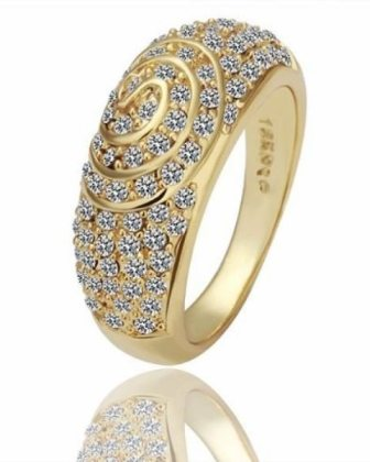 engagement rings gold for ladies 2015