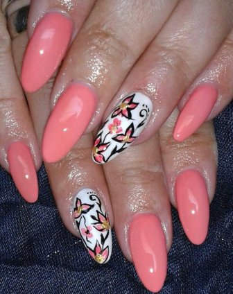 Shellac Nails Designs 2015 For Women