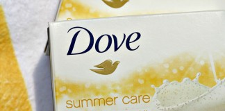Dove summer care beauty bar
