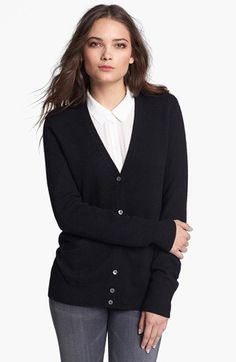 Cashmere cardigan1